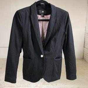 H&M black blazer size 8